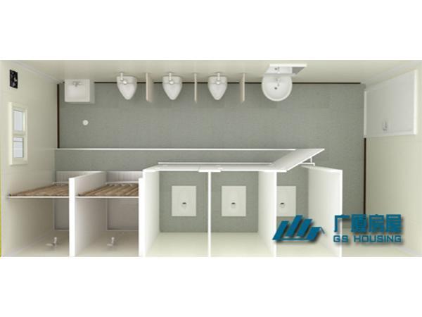 Módulos prefabricados para cuartos de baño para hombres ...